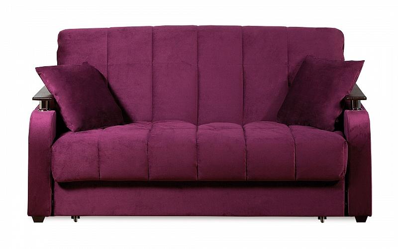Диван аккордеон фиолетовый
